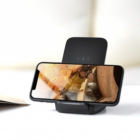 Rock Qi Wireless Charger Docking Stand Dual Coil - W3 - Black - 6