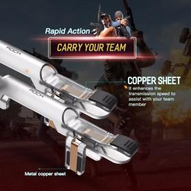 Rock Tombol Trigger Aim Touchpad L1 R1 for Battle Royale PUBG Shooter Game - RPH0871 - Transparent - 3