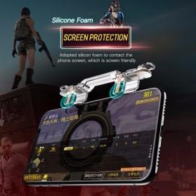 Rock Tombol Trigger Aim Touchpad L1 R1 for Battle Royale PUBG Shooter Game - RPH0871 - Transparent - 4