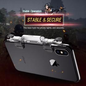 Rock Tombol Trigger Aim Touchpad L1 R1 for Battle Royale PUBG Shooter Game - RPH0871 - Transparent - 5