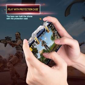 Rock Tombol Trigger Aim Touchpad L1 R1 for Battle Royale PUBG Shooter Game - RPH0871 - Transparent - 6