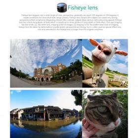Aukey Lensa Fisheye Macro - PL-A2 - Black - 5