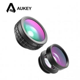 Aukey Lensa Fisheye Macro Wide Angle Lens - PL-A1 - Black