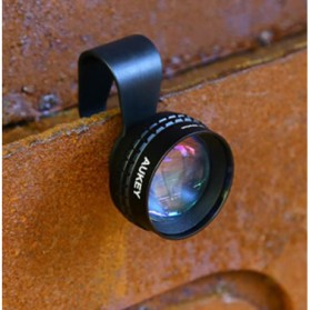 Aukey Optic Pro 2x Telephoto Lens Angle Fish Eye for Smartphone - PL-BL01 - Black - 3