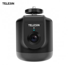 Telesin Smart Selfie Gimbal Auto Tracking Pan Tilt 360 Rotation - TE-GPYT-001 - Black