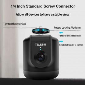 Telesin Smart Selfie Gimbal Auto Tracking Pan Tilt 360 Rotation - TE-GPYT-001 - Black - 3