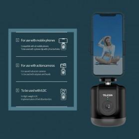 Telesin Smart Selfie Gimbal Auto Tracking Pan Tilt 360 Rotation - TE-GPYT-001 - Black - 6