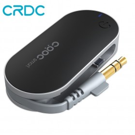 CRDC Compact Audio Bluetooth Transmitter - BT-C1 - Black - 1