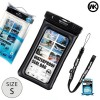 WK Waterproof Bag IPX8 for Smartphone 5.5 Inch - WT-Q01 - Black