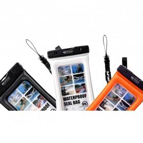 WK Waterproof Bag IPX8 for Smartphone 5.5 Inch - WT-Q01 - Black - 3