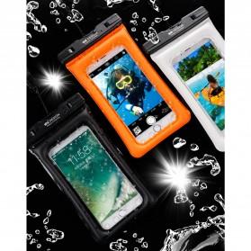 WK Waterproof Bag IPX8 for Smartphone 5.5 Inch - WT-Q01 - Black - 5