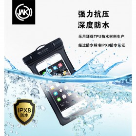 WK Waterproof Bag IPX8 for Smartphone 5.5 Inch - WT-Q01 - Black - 6