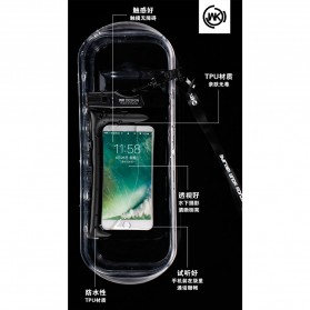 WK Waterproof Bag IPX8 for Smartphone 5.5 Inch - WT-Q01 - Black - 7