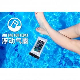 WK Waterproof Bag IPX8 for Smartphone 5.5 Inch - WT-Q01 - Black - 8