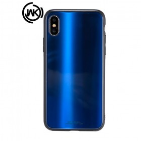 WK Polaris Glass Hard Case for iPhone XS Max - Blue