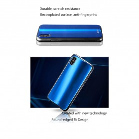 WK Polaris Glass Hard Case for iPhone XS Max - Blue - 2
