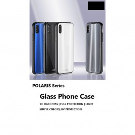 WK Polaris Glass Hard Case for iPhone XS Max - Blue - 6