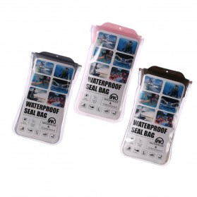 WK Waterproof Bag 30 Meter for Smartphone 4-6.5 Inch - WT-Q02 - Black - 2
