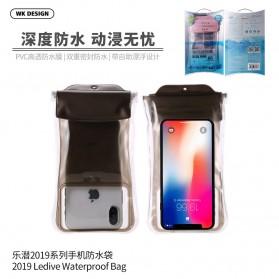WK Waterproof Bag 30 Meter for Smartphone 4-6.5 Inch - WT-Q02 - Black - 3