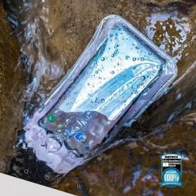 WK Waterproof Bag 30 Meter for Smartphone 4-6.5 Inch - WT-Q02 - Black - 5