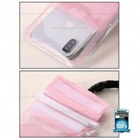 WK Waterproof Bag 30 Meter for Smartphone 4-6.5 Inch - WT-Q02 - Black - 6