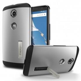 SGP Slim Armor Case for Nexus 6 (OEM) - Silver