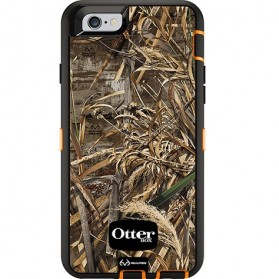 Otter Box Defender Series Case with Realtree Camo for iPhone 6 Plus - Max 5 (OEM) - Black