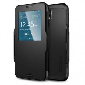 SGP Slim Armor View Case for Samsung Galaxy Note 3 - Black