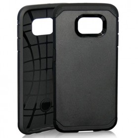 SGP Slim Armor Case for Samsung Galaxy S6 (OEM) - Black - 1