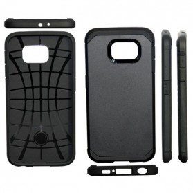 SGP Slim Armor Case for Samsung Galaxy S6 (OEM) - Black - 3