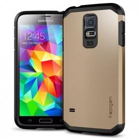 SGP Series Tough Armor Plastic + TPU Combination Case for Samsung Galaxy S5 (OEM) - Golden