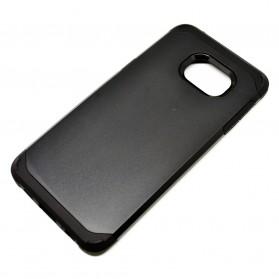 SGP Tough Armor Plastic + TPU Combination Case for Samsung Galaxy S6 Edge Plus (OEM) - Black