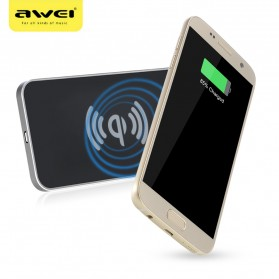 Awei Qi Wireless Charger Dual Coils - W1 - Black