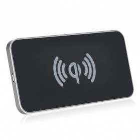 Awei Qi Wireless Charger Dual Coils - W1 - Black - 2