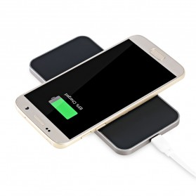 Awei Qi Wireless Charger Dual Coils - W1 - Black - 5