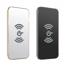 Awei Qi Wireless Charger Dual Coils - W1 - Black - 6