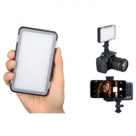 Godox Selfie Light DSLR Smartphone Dimmable Rechargeable - LEDM150 - Black