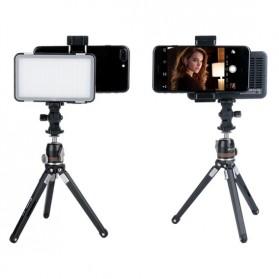 Godox Selfie Light DSLR Smartphone Dimmable Rechargeable - LEDM150 - Black - 3