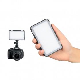 Godox Selfie Light DSLR Smartphone Dimmable Rechargeable - LEDM150 - Black - 4