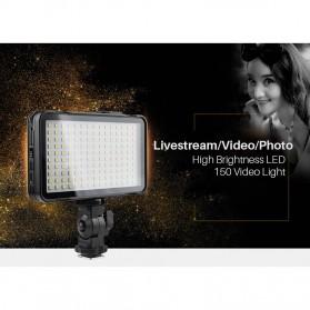 Godox Selfie Light DSLR Smartphone Dimmable Rechargeable - LEDM150 - Black - 5