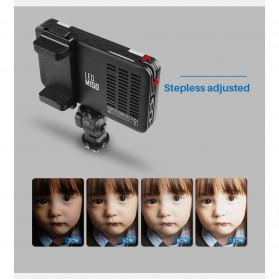 Godox Selfie Light DSLR Smartphone Dimmable Rechargeable - LEDM150 - Black - 6