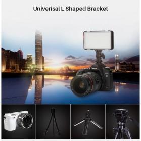 Godox Selfie Light DSLR Smartphone Dimmable Rechargeable - LEDM150 - Black - 7