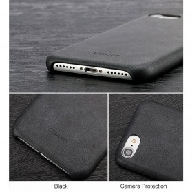 Usams Leather Hardcase Bob Series for iPhone 7 Plus / 8 Plus - Black - 2