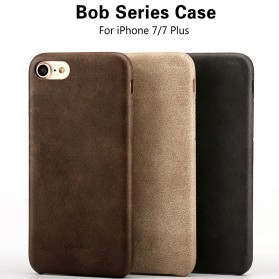 Usams Leather Hardcase Bob Series for iPhone 7 Plus / 8 Plus - Black - 4