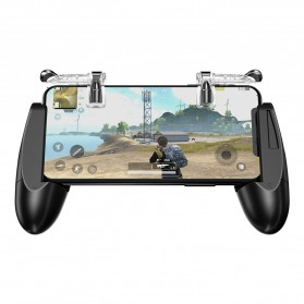 GameSir F2 Firestick Game Grip Tombol Trigger Aim Touchpad L1 R1 PUBG Fortnite - Black - 2
