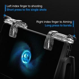 GameSir F2 Firestick Game Grip Tombol Trigger Aim Touchpad L1 R1 PUBG Fortnite - Black - 7