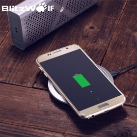 Blitzwolf Qi Wireless Fast Charger 9V for Smartphone - FWC1 - Black - 3