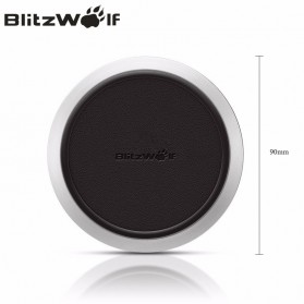 Blitzwolf Qi Wireless Fast Charger 9V for Smartphone - FWC1 - Black - 6