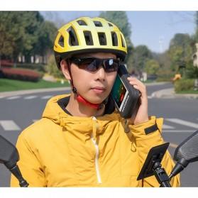 Rockbros Holder Smartphone Motor Waterproof Large Size 5.8 Inch  - ZJ-04 - Black - 7