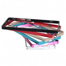 Ultra Thin Aluminium Metal Bumper Case Dual Color for Xiaomi Redmi Note - Magenta
